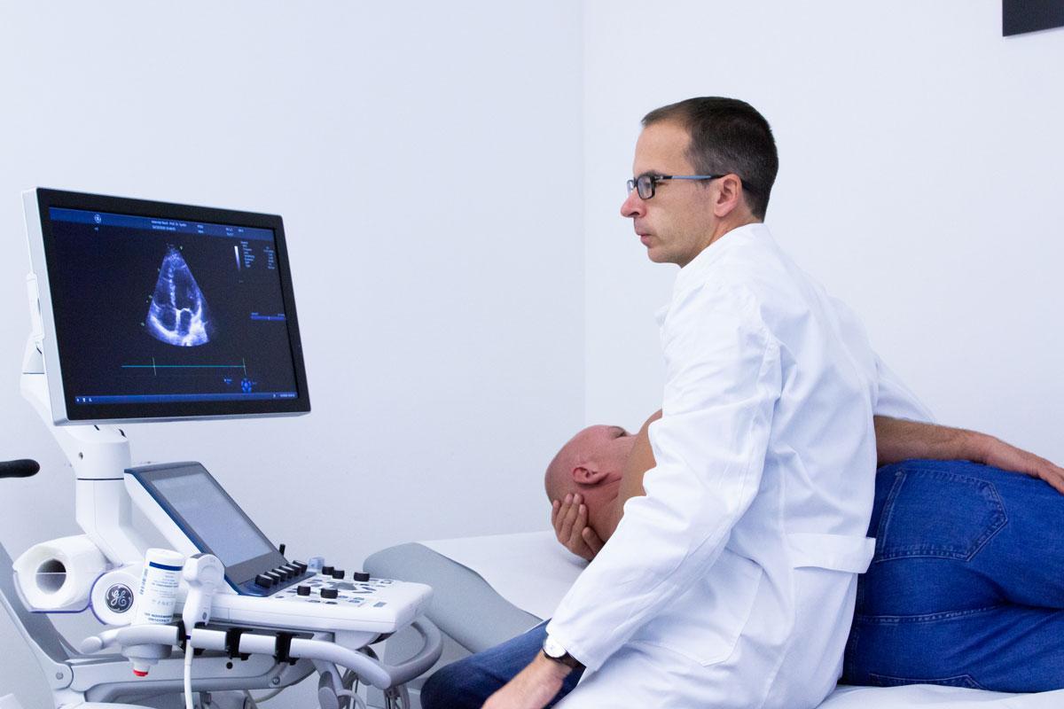 Herzultraschall Untersuchung
