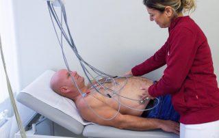 EKG Diagnostik am Patienten
